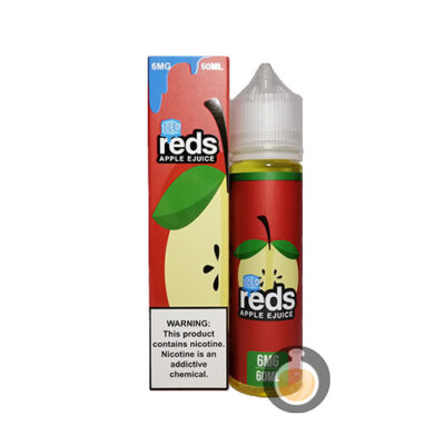 7 Daze - Reds Apple Original Iced - Malaysia Vape Juice & US E Liquid