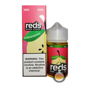 7 Daze - Reds Apple Strawberry - Malaysia Vape Juice & US E Liquid Store