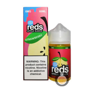 7 Daze - Reds Apple Strawberry Iced - Malaysia Vape Juice & US E Liquid