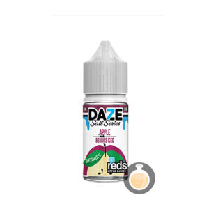 7 Daze - Salt Series Reds Apple Berries Iced - Malaysia Juice & US Liquid
