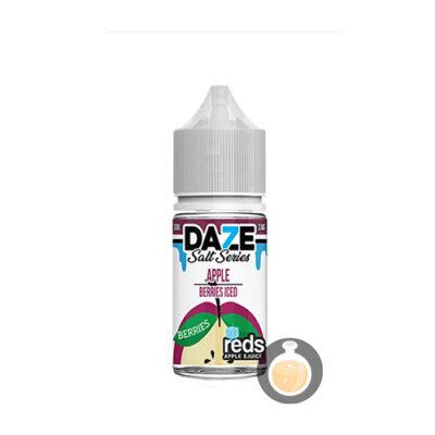 7 Daze - Salt Series Reds Apple Berries Iced - Malaysia Juice & US Liquid