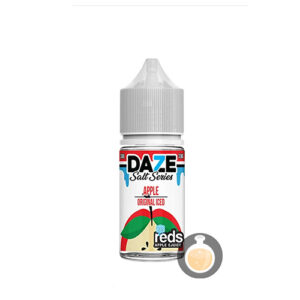 7 Daze - Reds Salt Series Apple Original Iced - Malaysia Juice & US Liquid