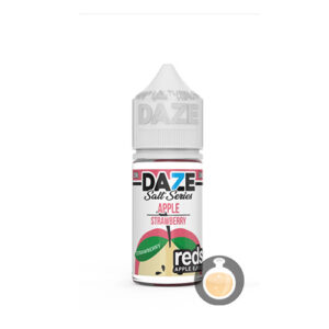 7 Daze - Reds Salt Series Apple Strawberry - Malaysia Juice & US E Liquid