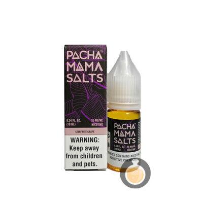 Pacha Mama - Salts Nic Starfruit Grape - US Vape Juice & E Liquid Store