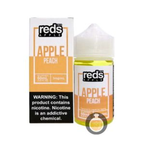 7 Daze - Reds Apple Peach - Malaysia Vape Juice & US E Liquid Store