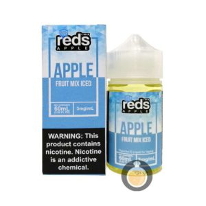 7 Daze - Reds Apple Fruit Mix Iced - Malaysia Vape Juice & US E Liquid