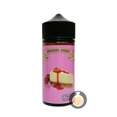 Junkey Juice - Strawberry Cheese Cake - Malaysia Vape Juice & E Liquid