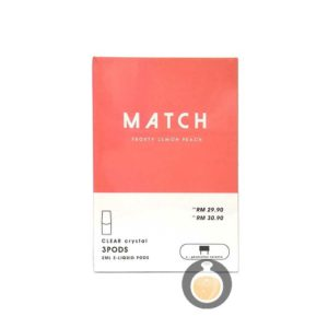 Match Pod - Frosty Lemon Peach